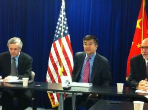 高明电台采访美国驻华大使骆家辉 Interview with Ambassador Gary Locke